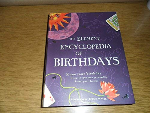 9781435101357: The Element Encyclopedia of Birthdays