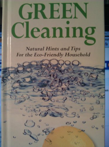 9781435106048: Green Cleaning