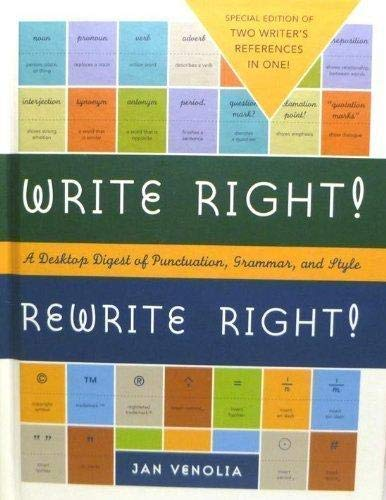 9781435106468: Write Right! Rewrite Right! A Desktop Digest of Punctuation, Grammar, and Style