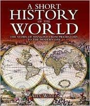 a short overview of the history of the world This book is a short overview of the history of mankind i've read other books with the same theme, this book is a very good example of that genre the author gives a time line of when the genus homo began, when homo sapien developed, the exit from africa, the migration patterns that settled the world and the beginning of man living in cities.