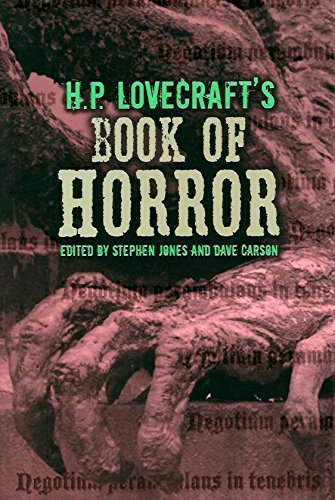 H. P. Lovecraft's Book of Horror: Lovecraft, H. P.