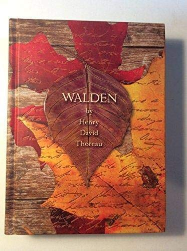 Walden (Fall River Press Edition) [Hardcover] by: Henry David Thoreau