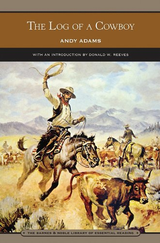 9781435109339: The Log of a Cowboy (Barnes & Noble Library of Essential Reading)