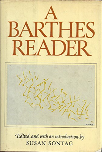 9781435109773: A Barthes Reader