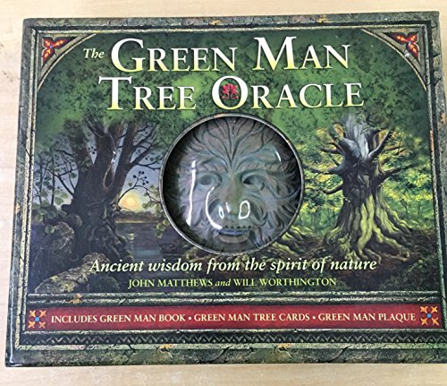 9781435109797: The Green Man Tree Oracle : Ancient Wisdom From the Spirit of Nature (book, cards & plaque)