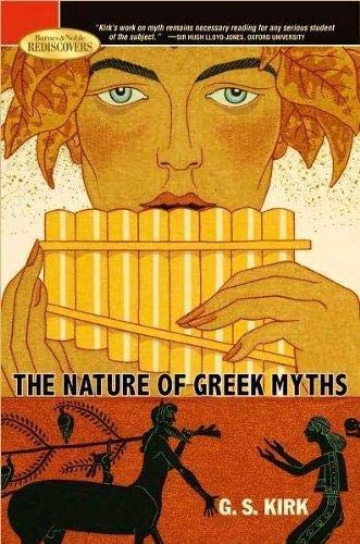 9781435110359: The Nature of Greek Myths. (2009 Edition)