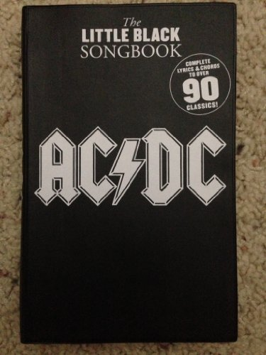 9781435111028: The Little Black Songbook (AC/DC Over 90 Classics)