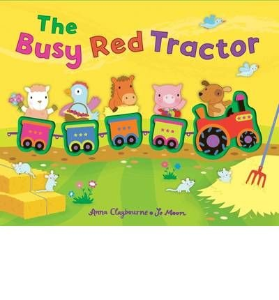 9781435112100: The Busy Red Tractor