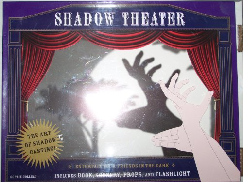9781435114845: Shadow Theater: Entertain Your Friends in the Dark Includes: Book, Scenery, Props, and Flashlight