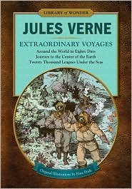 Extraordinary Voyages (Library of Wonder): Around the: Jules Verne