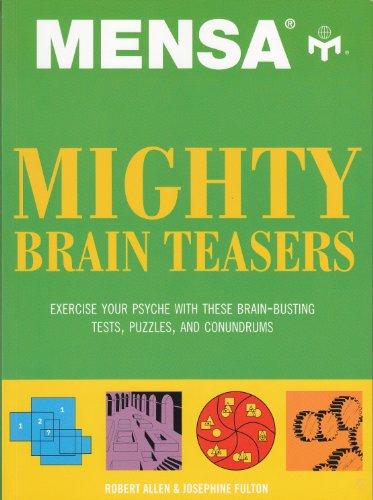 9781435117013: Mensa Mighty Brain Teasers
