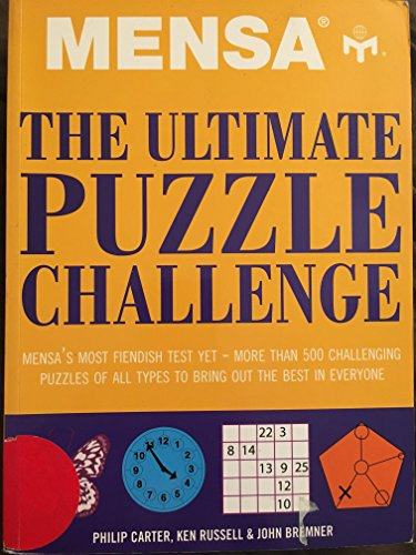 9781435117020: Mensa: The Ultimate Puzzle Challenge