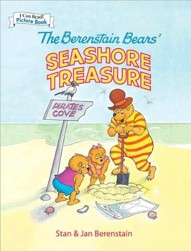 9781435117082: The Berenstain Bears' Seashore Treasure (An I Can Read Picture Book) [Hardcov...