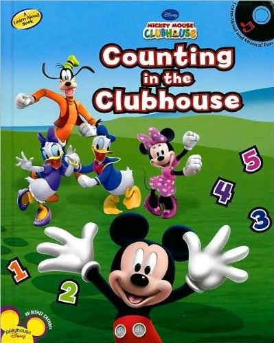 9781435117204: Mickey Mouse Clubhouse: Counting in the Clubhouse (Book and CD)