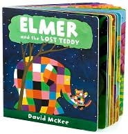 9781435119291: Elmer and the Lost Teddy: Lap Board Book