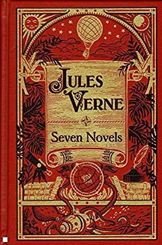 9781435122956: Jules Verne: Seven Novels (Barnes & Noble Leatherbound Classic Collection)