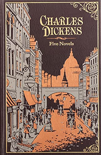 9781435124998: Charles Dickens: Five Novels (Barnes & Noble Leatherbound Classics) (Barnes & Noble Leatherbound Classic Collection)
