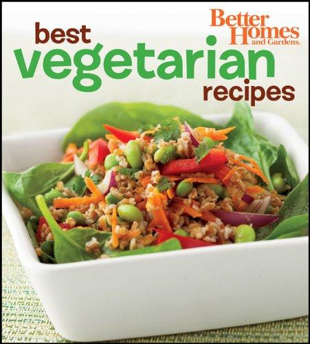 9781435126312: Better Homes and Gardens Best Vegetarian Recipes (BN) (Better Homes & Gardens Cooking)