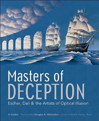 9781435129290: Masters of Deception - Escher, Dali & the Artists of Optical Illusion