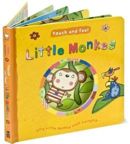 9781435130753: Little Monkey (Touch & Feel)