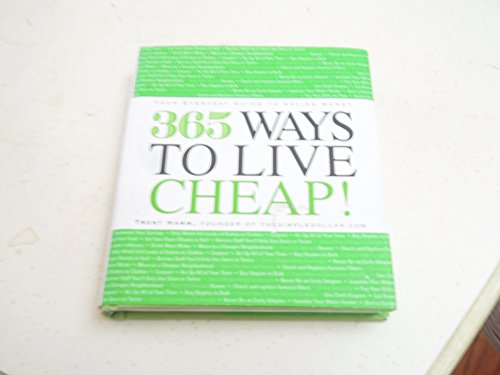 9781435132894: 365 Ways to Live Cheap