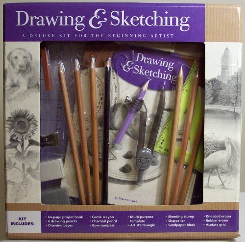 9781435133273: Drawing & Sketching: A Deluxe Kit for the Beginning Artist