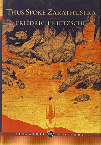 9781435136441: Thus Spoke Zarathustra (Barnes & Noble Signature Edition) (Barnes & Noble Signature Editions)