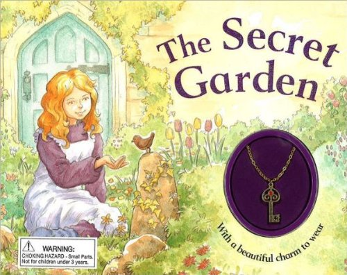 9781435137479: The Secret Garden - Glitter Charm Book