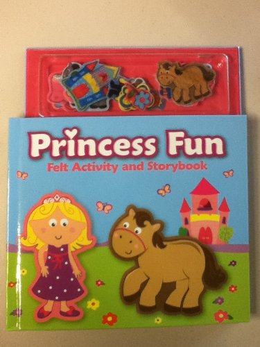 Princess Fun Felt Activity and Storybook: The Clever Factory
