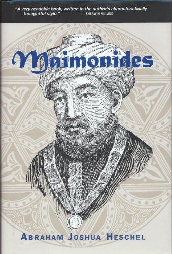 Maimonides (1435142683) by Heschel, Abraham