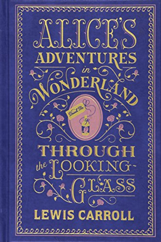 9781435142886: Alice's Adventures in Wonderland and Through the Looking Glass (Barnes & Noble Leatherbound Classic Collection)