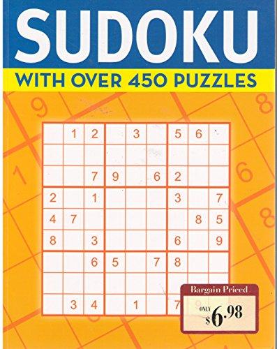 Sudoku with Over 450 Puzzles Book Metro Books: Metro Books