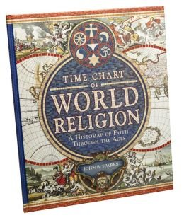 9781435144255: Time Chart of World Religion: A Histomap of Faith Through the Ages