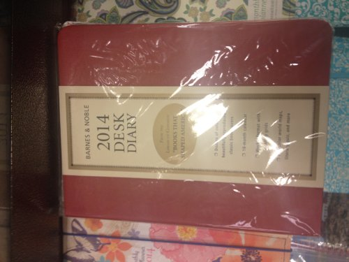 9781435145658: 2014 Barnes and Noble Desk Diary:
