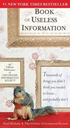 9781435145795: The Book of Useless Information