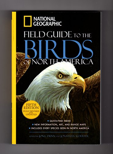 9781435146266: National Geographic Field Guide to the Birds of North America, Fifth Edition Fully Revised and Updated - 2013 Barnes & Noble Edition