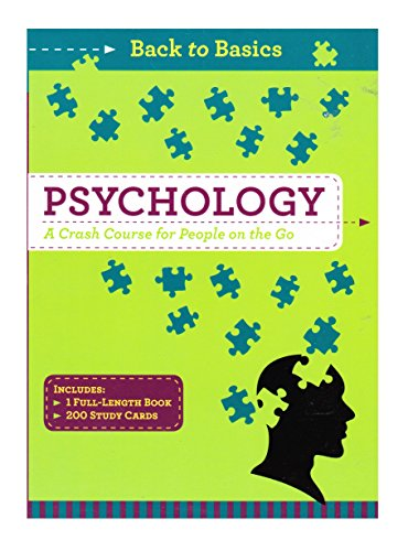 9781435152663: Back to Basics Psychology,a Crash Course for People on the Go
