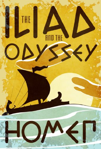 Iliad and the Odyssey (Fall River Classics): Homer