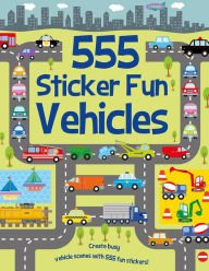 9781435154636: 555 Sticker Fun Vehicles
