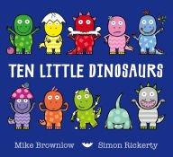 9781435161559: Ten Little Dinosaurs