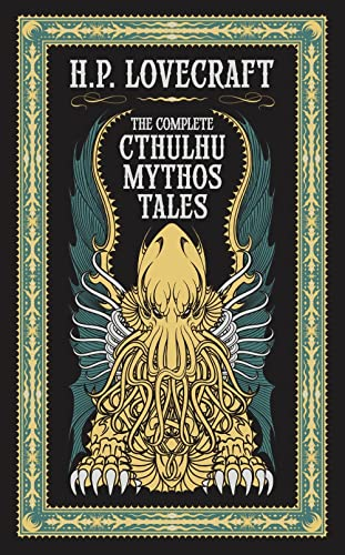 9781435162556: The Complete Cthulhu Mythos Tales (Barnes & Noble Leatherbound Classic Collection)