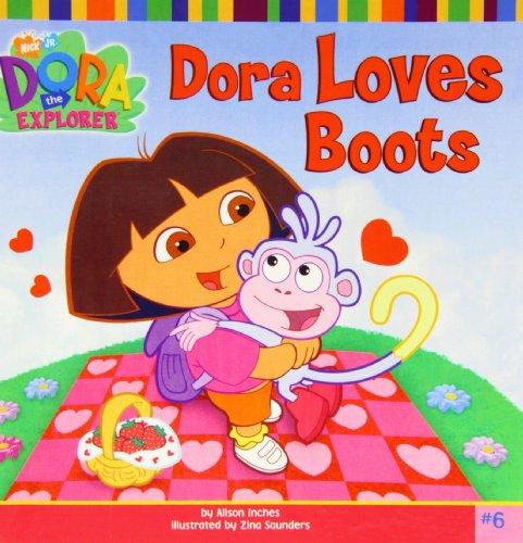 Dora Loves Boots (Dora the Explorer): Alison Inches, Zina