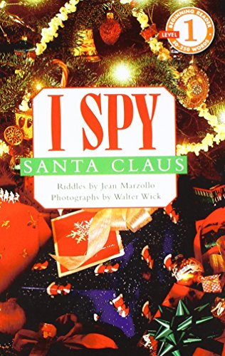 I Spy Santa Claus (Scholastic Readers: I Spy) (1435236858) by Jean Marzollo