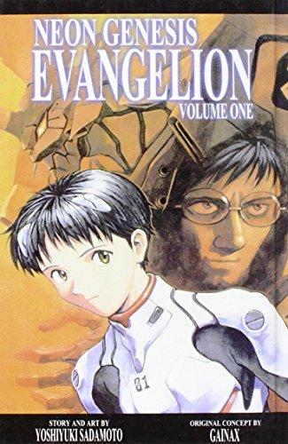 Neon Genesis Evangelion (1435258452) by Sadamoto, Yoshiyuki; Burke, Fred; Horn, Carl Gustav
