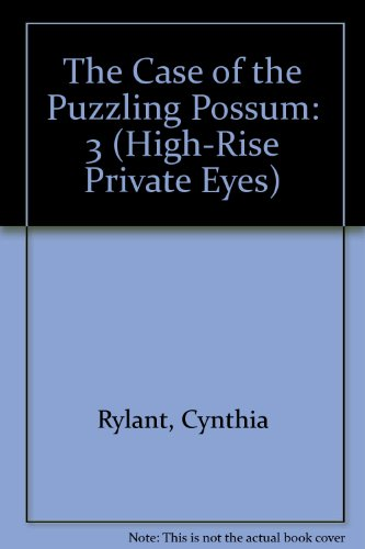 9781435262768: The Case of the Puzzling Possum (High-Rise Private Eyes)