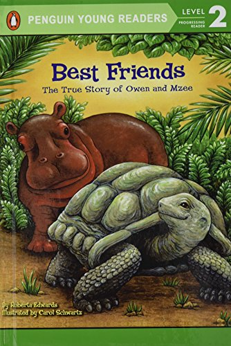 9781435272019: Best Friends: The True Story of Owen and Mzee (All Aboard Science Reader, Level 1)