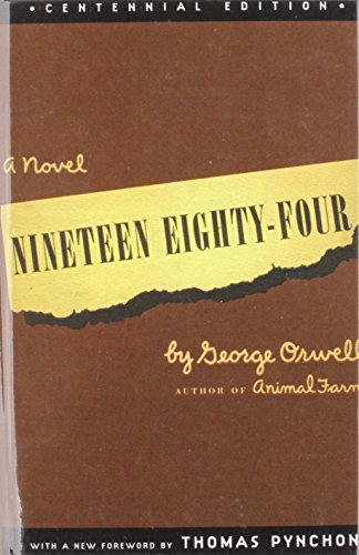 Nineteen Eighty-four (9781435277076) by George Orwell; Thomas Pynchon; Erich Fromm