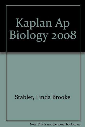 9781435277182: Kaplan Ap Biology 2008