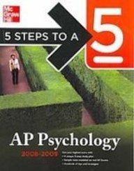 9781435277342: Ap Psychology 2008-2009 (5 Steps to a 5)
