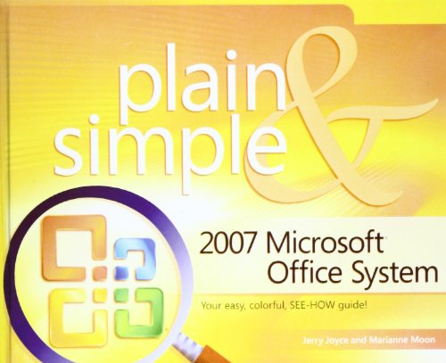 9781435280960: 2007 Microsoft Office System Plain and Simple (Plain & Simple)